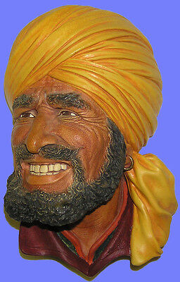 # 334 Extremely Rare Bossons Yellow Turban Punjabi  Mint Condition