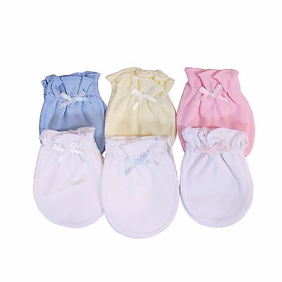 NEW Baby Infant Girls/Boys Anti-Scratch Newborn High Quality Cotton Mitten