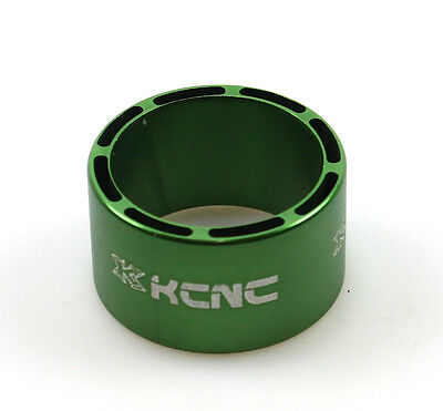 gobike88 KCNC Hollow Design Headset Spacer, 20mm, Green, Made in Taiwan 640