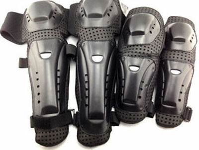 Motorcycle Racing Motocross Knee Pads Protector Guards Protective Gear Armor