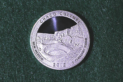 2012 SILVER PROOF ~ Chaco Culture National Park ~ Quarter ~ DC Mirror Fields