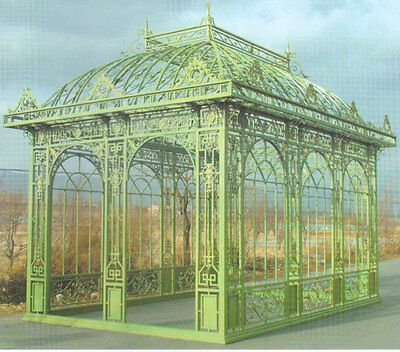 orangerie jugendstil gartenhaus gazebo pavillon gew chshaus or002 eur picclick de. Black Bedroom Furniture Sets. Home Design Ideas