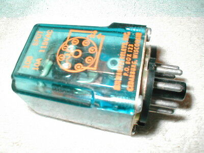 Milwaukee Relays #105 Octal Relay Spdt 10 Amp 115 Coil Works Perfectly  Usa