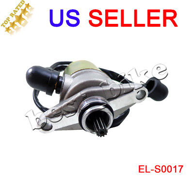 Starter 10T Gy6 50cc 139QMB Moped Scooter Starting Motor SUNL ROKETA TANK JCL