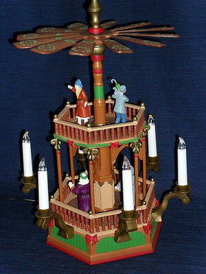 "Unique 15"" Avon German-Style A CHRISTMAS CAROL WINDMILL Music & Motion & Lights"