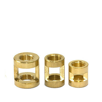 Superior Quality Solid Brass M10 Hickey Coupler for Chandeliers in 3 Sizes S,M,L