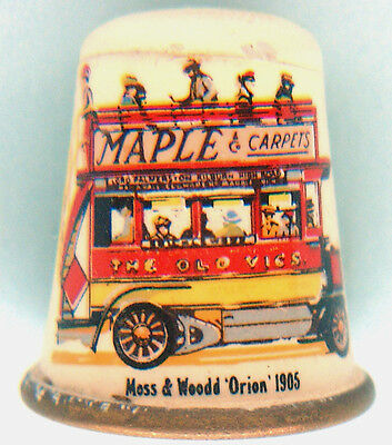 "Brass Thimble: Enamel & Illustrated with""Maple & Carpets"" Omnibus"