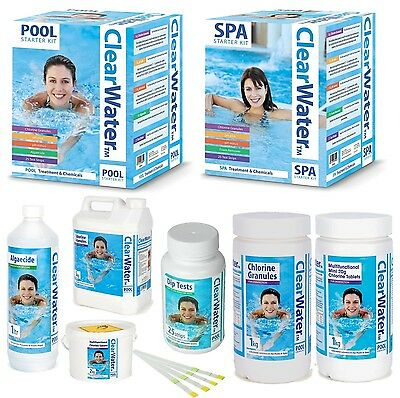 ClearWater Lay-Z-Spa, Swimming Pool, Spa & Hot Tub Chemicals & Starter Kits