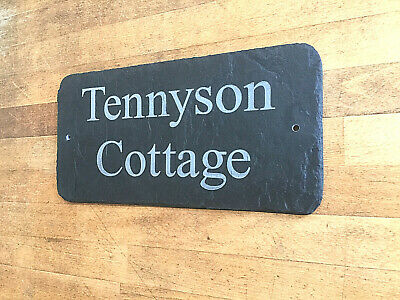 Rustic Slate House Sign Plaque - We contact you for your Sign Plate requirements