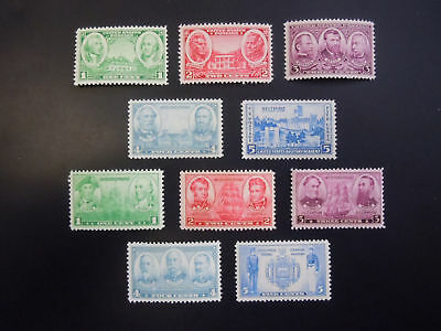 1936 Army/Navy Issues 785-794 MNH OG