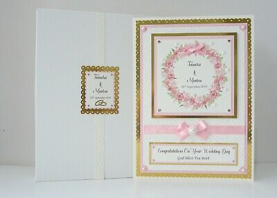 Wedding Day Card + Box Son/Daughter/Granddaughter/Grandson/Friends Personalised