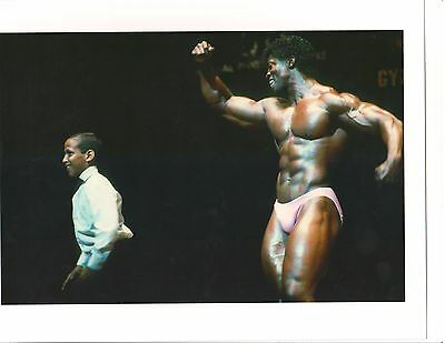 JOHN BROWN Bodybuilding Muscle Photo Color