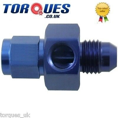 "AN -10 (AN10) Male - Female Union+ 1/8"" NPT Side Port"