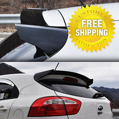 Rear Window Glass Wing Roof Spoiler Trim Painted for KIA 2012-2017 Rio Hatchback