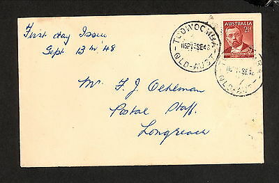 FDC 1948  VON MUELLER First Day Cover Toowoomba (4406.44)