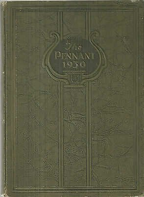 1930 Elkhart High School Yearbook Elkhart Indiana