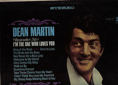 Dean Martin, Vinyl LP Reprise  Records, 1965, RS 6170  I'm the One Who Loves You