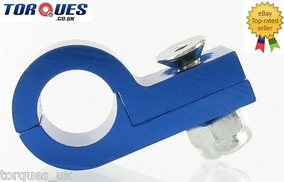 AN -6 (AN6 AN06) Blue TEFLON 11mm O.D Fuel Hose Clamp