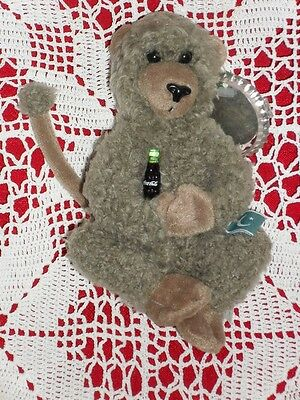 COCA COLA plush CROON PAKISTAN Baboon w/Tag COKE