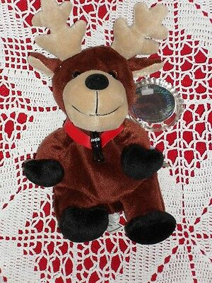COCA COLA plush BALTIC SWEDEN REINDEER w/Tag COKE