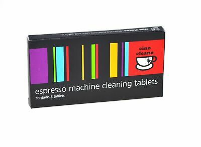 NEW CAFETTO CINO CLEANO CLEANING TABLETS Coffee Espresso Machine Clean  BREVILLE