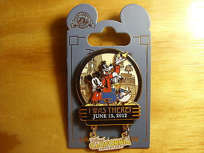 Disney California Adventure Grand Opening I Was There June 15 2012 Pin