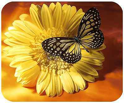 Mouse Pad Custom Thick Mousepad-Butterfly 6 - Add Any Text Free