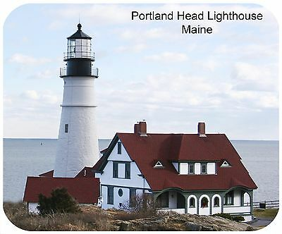 Mouse Pad Custom Personalized Thick Mousepad-Lighthouse-Add Any Text