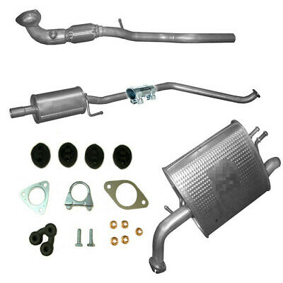 Exhaust system for Chevrolet Spark 1.0 and 1.0 Bi Fuel from 03//2010 4888