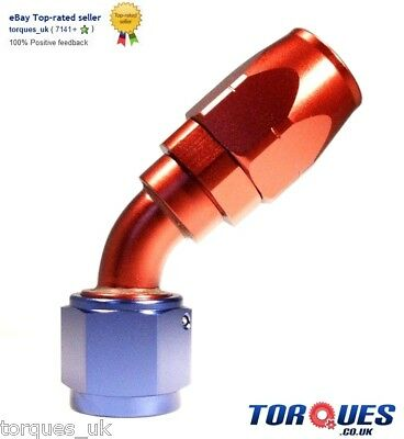 AN -16 (AN16 JIC - 16) 45 DEGREE Swivel Seal Hose Fitting