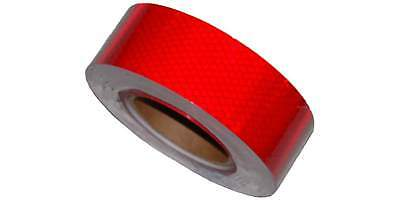 2''x75' Solid Red Reflective Tape, Continuous SR275X1700