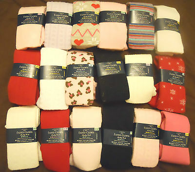 Girls Cotton Tights Stockings Infant Toddler Children NEW
