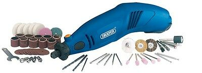 Draper Multi-Tool Kit with 56 Accessories Rotary Hobby Engraver Sander 53106