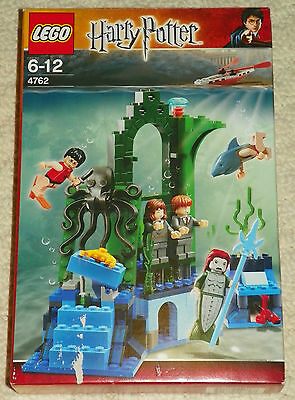 LEGO 4762 - HARRY POTTER - Rescue from the Merpeople w/ BOX - 2005