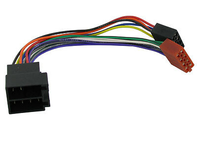 Pc2-04-4 Vauxhall Vectra 1995 - 2005 Iso Stereo Harness Adaptor Wiring Lead