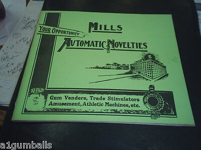 Mills Automatic Novelties catalog  1895 - 1913 free shipping C@@L