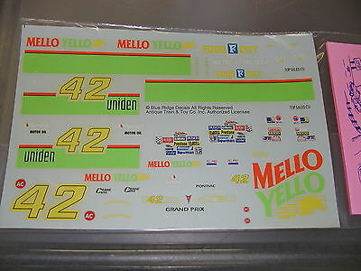 #42 Mello Yello Food City Pontiac Kyle Petty