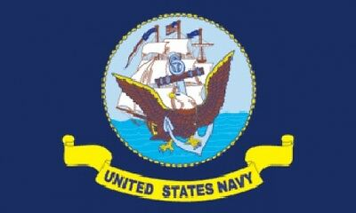 3'x5' Navy Nylon Flag USA Armed Forces Banner Pennant Naval US Military New 3x5