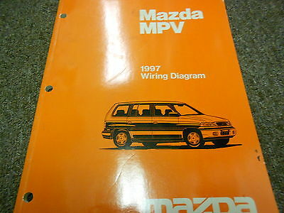 2004 mazda tribute electrical wiring diagram service repair shop 1997 mazda mpv van electrical wiring diagram service repair shop manual 97