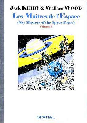 Jack KIRBY & WOOD Les Maîtres de l'Espace Sky Masters of the Space Force (1958)