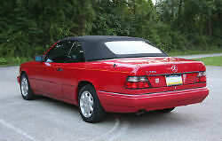 Mercedes w124 E320 300CE Black Stayfast Convertible Top 1992-1995