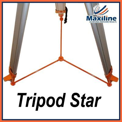 Tripod Star Floor Spider Support Pad for Aluminium Tripod Surveying