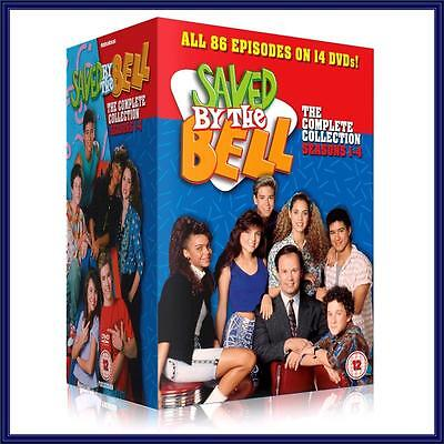 SAVED BY THE BELL-COMPLETE COLLECTION- SEASONS 1 2 3 & 4  *BRAND NEW DVD BOXSET*
