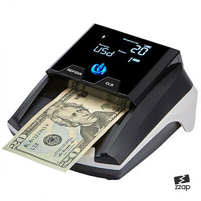 Multi Counterfeit Fake Bank Note Banknote Money Forgery Detector Checker Counter