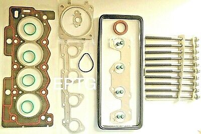 HEAD GASKET SET & BOLTS PEUGEOT 106  206 207 307 1007 PARTNER 1.4 8V MPi TU3JP