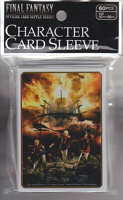 Final Fantasy Card Game Official Sleeve FF Type-0  B  (60) Japanese