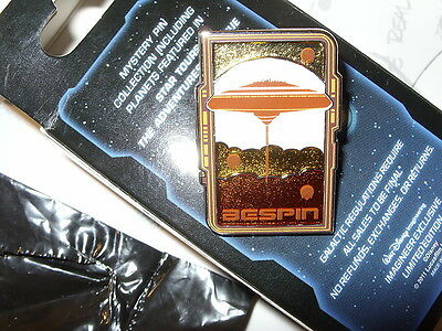 WDI Walt Disney Imagineering Star Tours The Adventures Continue Bespin LE200 Pin