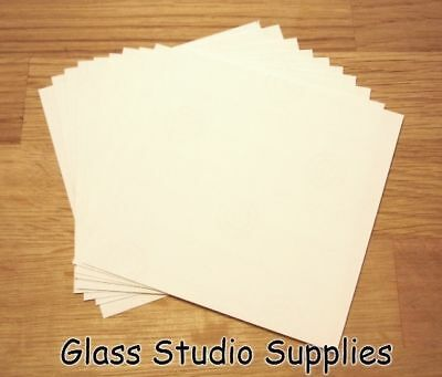 10 Small Sheets of Bullseye HotPot Thinfire Kiln Paper for Glass Fusing (TFP02)