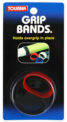 Tourna Grip Bands Tennis Racquet Silicone Grip Bands-To Hold Replacement