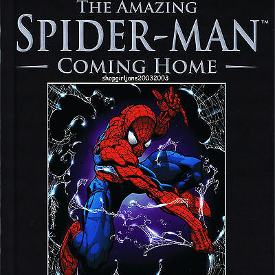Marvel The Amazing Spider-man - Coming Home - Graphic Novel hardcover comic book